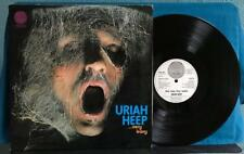 URIAH HEEP VERY EVAY VERY UMBLE~ORIG 1970 GERMAN VERTIGO LRG SWIRL LP~PSYCH