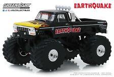GreenLight 1:43 Kings of Crunch Earthquake 1975 Ford F-250 Monster Truck 88022