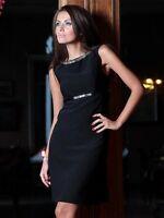 Da Sera Eleganti Classiche Donne Elegante Vestito Taglia 8 - 18