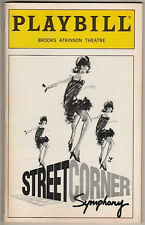 """Street Corner Symphony""  Playbill 1997  FLOP"