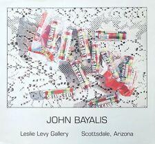 John Bayalis - 60x43cms - vintage sweets poster print, Lifesavers sweets