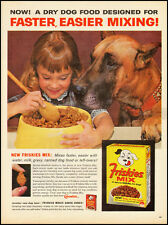 1967 vintage ad for Friskies 'New Dogfood Mix'  -071912