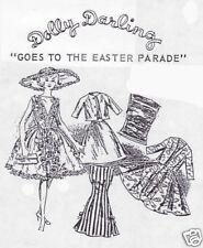 Vintage For Barbie Easter Parade Fashion Patterns