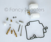Scooter moped carburetor rebuild kit 139qmb float GY6 50cc Gas scooters