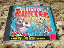 Brain Buster Quiz (PC) Game (New and Sealed)