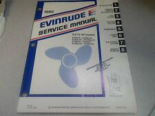 1980 Evinrude Service Manual Taller 9.9 15hp Rcs Rlcs ECS Elcs Selcs Rlcs X