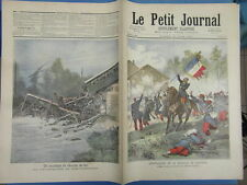 LE PETIT JOURNAL 1891 (31) SOLFERINO MORT COLONEL MALLEVILLE ACCIDENT TRAIN