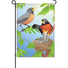 Robins Family Garden Size Flag..4..... PR 51785