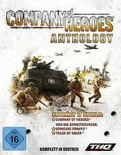 COMPANY OF HEROES ANTHOLOGY + Opposing Fronts + Tales of Valor DEUTSCH
