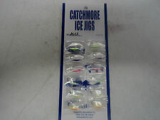 Jon's Ice Jigs - 12 per card - Size 8 - Jij-41,43,57,59,61,63 (2 of each) #Jij-A
