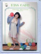JAPANESE IDOL Mayumi Ono KISS CARD 1/50