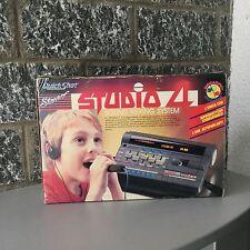 Rare Vintage 1987 #Quick Shot Studio 4 Cassette Sound Mixing System Spectravideo