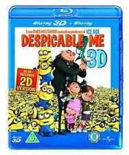 Despicable Me (Blu-ray 3D) [Region Free] By Steve Carell,Jason Segel,Chris Me.