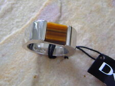 Dyrberg/Kern DK man Ring Damon Tiger Eye 925 Sterlingsilver