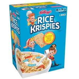 Kellogg's Rice Krispies Breakfast Cereal (42 oz, 2 pk.) GREAT DEAL & SERVICE!!