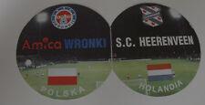 Ticket for collectors EC Amica Wronki SC Heerenveen 1998 Poland Holland