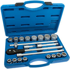 Vielzahn Schlüssel Set Steckschlüssel Satz 3/4 Zoll Nüsse 21-tg Kfz Werkzeug BGS