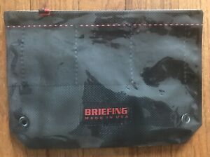 Briefing Japan Pencil/Pen Plastc Zip Bag Case - *One Of A Kind -Only A Few Made*