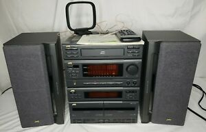 JVC MX-50 Compact Component Stereo System - with Remote & Manual