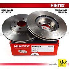 2X Mintex Anteriore Freni a Disco MDC1084 ALFA ROMEO MITO CHRYSLER FIAT PEUGEOT BIPPER