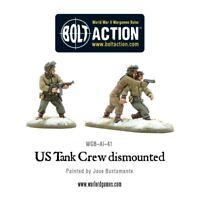 Warlord Games - US Tank Crew Dismounted 28mm Bolt Action Amerika WW2 USA Amis