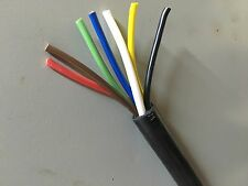 7 Conductor PVC Coated Multi Conductor Trailer Wiring Cable Price per foot