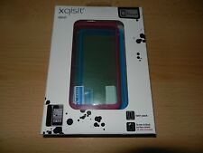 2 Pack Set Xqisit IVest Screen & Back Surface Shield Silicon Case IPhone 4 G 4S