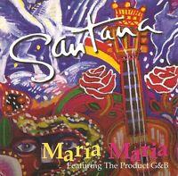 Santana Featuring The Product G & B CD Single Maria Maria - Europe (VG+/EX+)