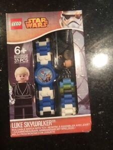 Lego Star Wars LUKE SKYWALKER Watch with minifig 8020356 brand new wear box