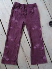 Pantalon / Leggings prune motif Winnie violet DISNEY Taille 4 Ans / 102 cm