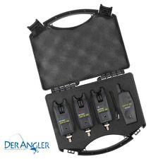 Spro Funkbissanzeiger Set 3+1 Spi1-W 3 Bissanzeiger 1 Funkbox Koffer Funkset OVP