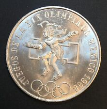 Mexico - Silver 25 Pesos Coin - 'Olympic Games' - 1968 - Proof