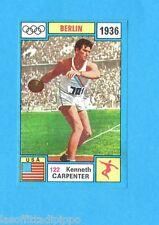 OLYMPIA 1896-1972-PANINI-Figurina ADESIVA !! n.122- CARPENTER - USA -Rec