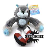 SONIC THE WEREHOG 20 CM PELUCHE LUPO pupazzo wolf Hedgehog figure mannaro raro