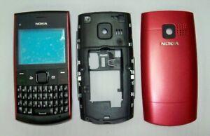 Red fascia housing cover facia faceplate case for Nokia x2-01 Red fascias