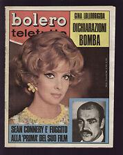 BOLERO 1124/1968 LOLLOBRIGIDA GHIBLI SANNIA AL BANO DALIDA PAOLI LAMBORGHINI