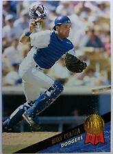 1993 93 Leaf Series One Mike Piazza Rookie RC #35, Los Angeles Dodgers