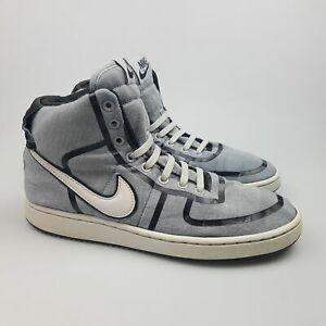 Women's NIKE 'Vandal Hi' Sz 8 US Shoes Grey GCon 2009 Fabric | 3+ Extra 10% Off