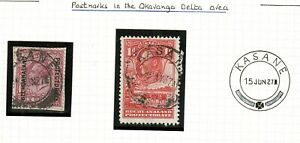 BECHUANALAND PROTECTORATE 1927 KASANE POSTMARK ON KGVI ISSUE.  A423