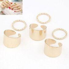 Markenlose Modeschmuck-Ringe im Ehering-Stil aus Metalllegierung