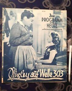 SHIRLEY TEMPLE -  Rebecca of Sunnybrook Farm - Vintage 1938 German Movie Pgm