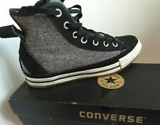 Converse winter boots size 5 Fur lined  All stars limited edition