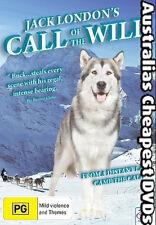Call Of The Wild DVD NEW, FREE POSTAGE WITHIN  AUSTRALIA  REGION 4