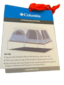 LS-1 Columbia Ten Person Tent 30651 Blue/Gray (New with Tags)