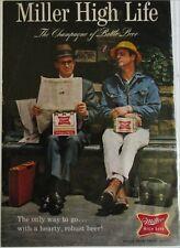 1967 Miller Beer ad