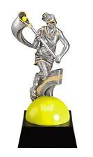 "7"" Lacrosse Female Trophy Personalized Free"