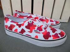 NWT WOMEN'S VANS AUTHENTIC (HEARTS) SNEAKERS/SHOES.SIZE 7.BRAND NEW FOR 2021.