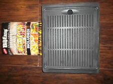 "The Big Easy 14.5"" X 12"" Double Sided Cast Iron Griddle Breakfast Lunch Dinner"