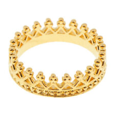 Ring Classic Fashion Jewelry Size 9_Gold Crown Ring for Men's Wedding Band