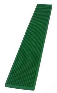 Long Rubber Glass Mats Plastic   Green Bar Shelf Drip Trays Pub Beer Drink Mat